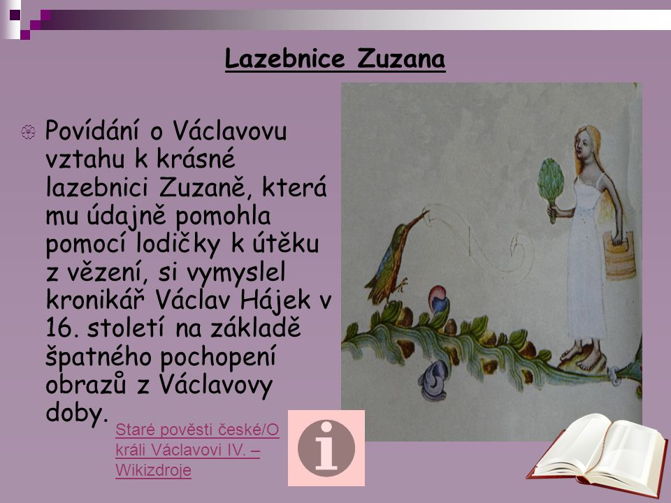 Lazebnice Zuzana