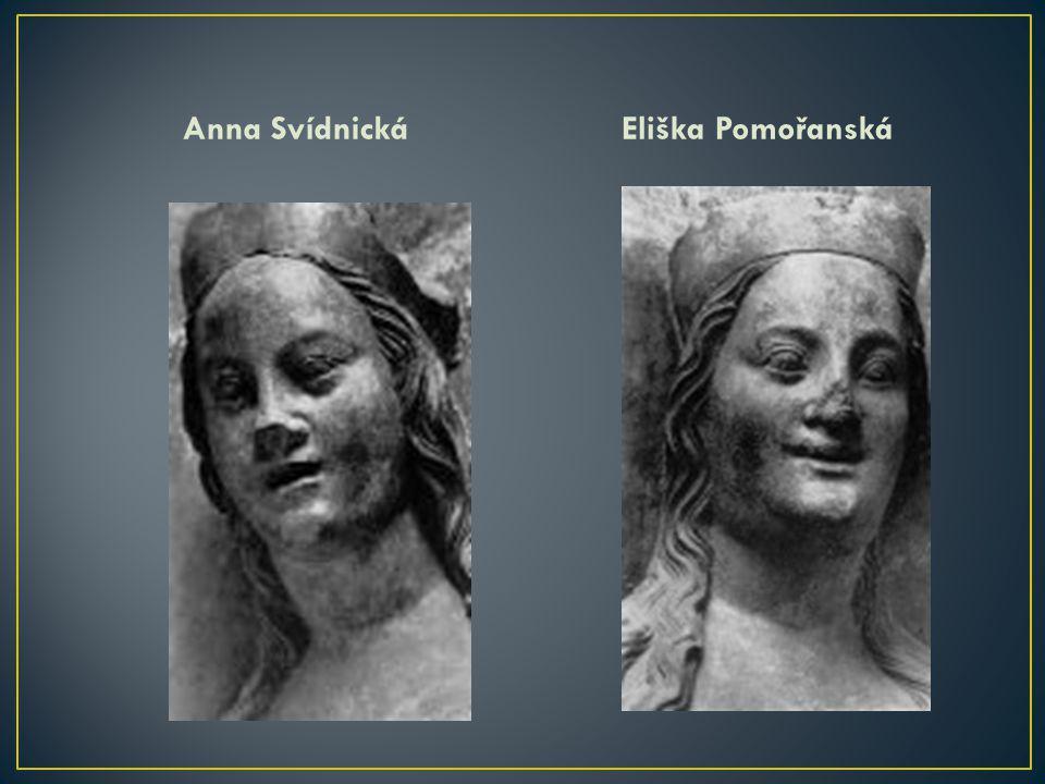 Anna Svídnická Eliška Pomořanská