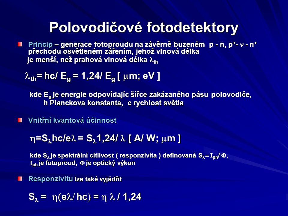Polovodičové fotodetektory