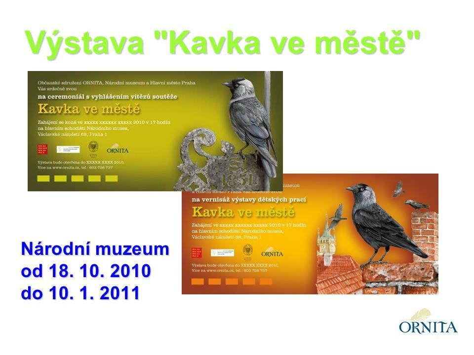 Výstava Kavka ve městě Národní muzeum od 18. 10. 2010 do 10. 1. 2011