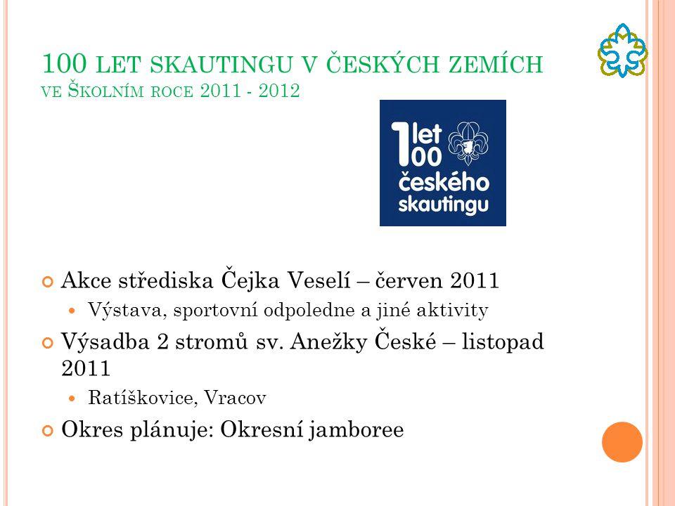 100 let skautingu v českých zemích ve Školním roce 2011 - 2012