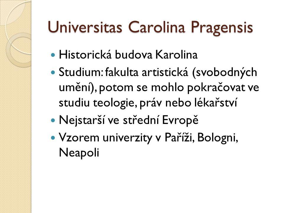 Universitas Carolina Pragensis