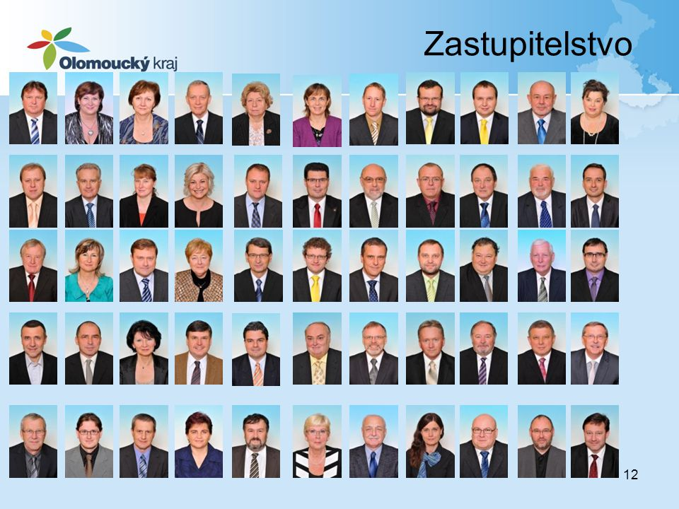 Zastupitelstvo Zastupitelstvo 55 členů: - ČSSD 19 křesel