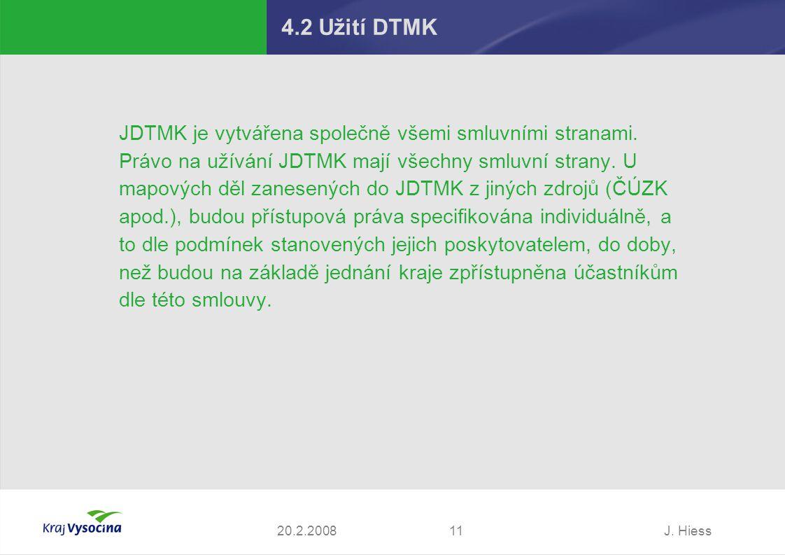 4.2 Užití DTMK