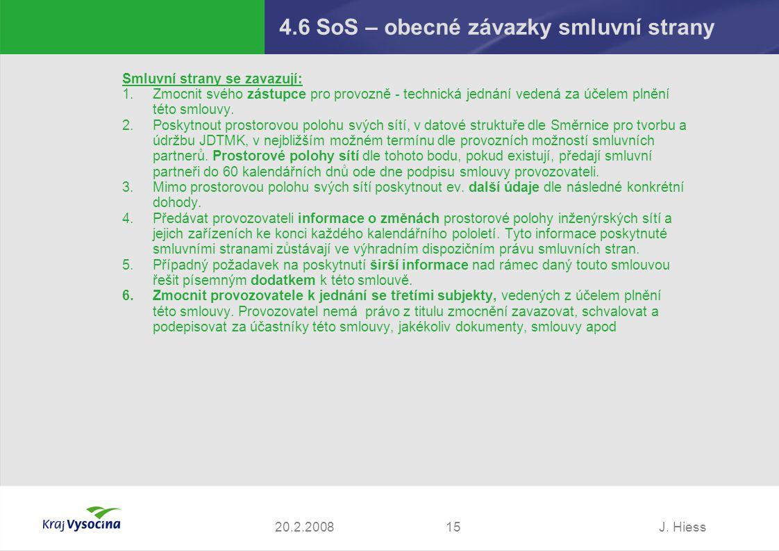 4.6 SoS – obecné závazky smluvní strany