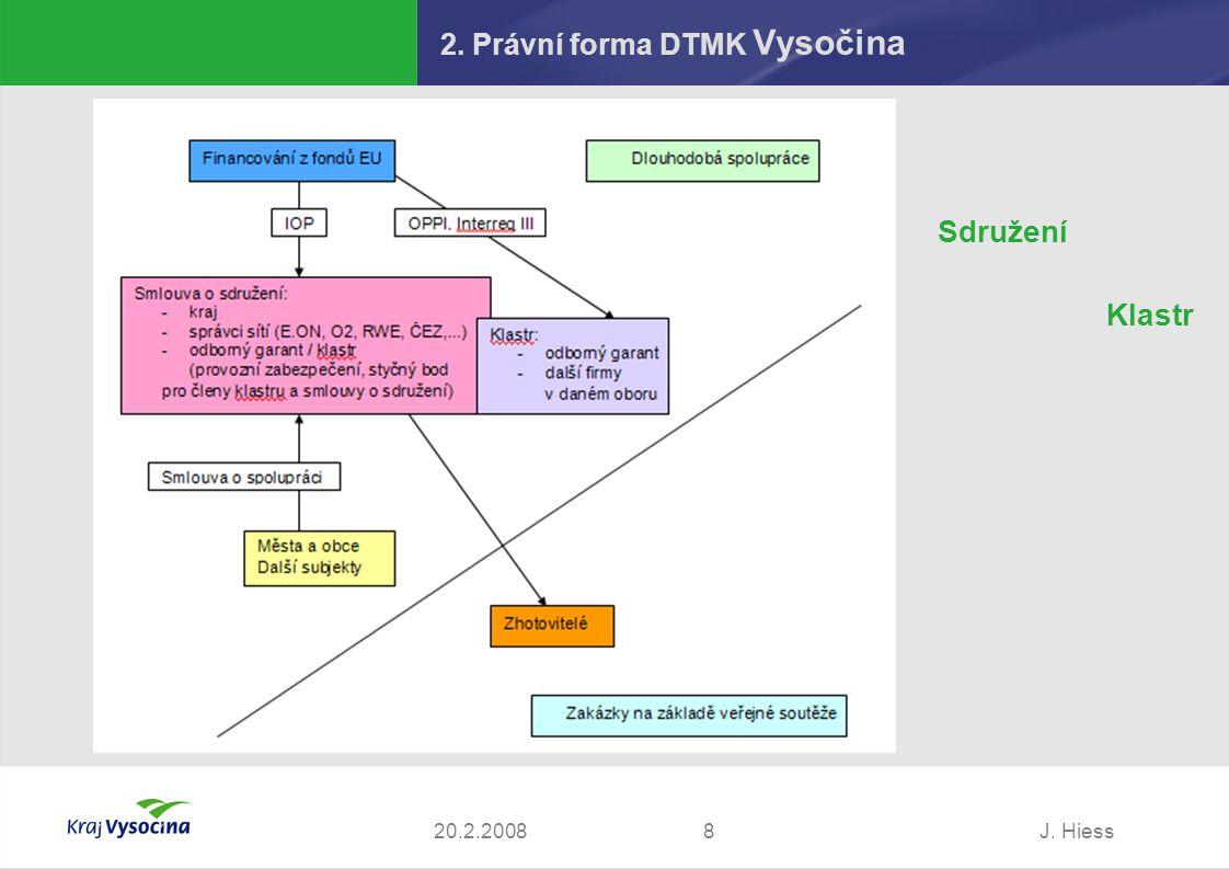 2. Právní forma DTMK Vysočina