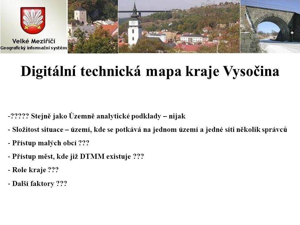 Digitální technická mapa kraje Vysočina