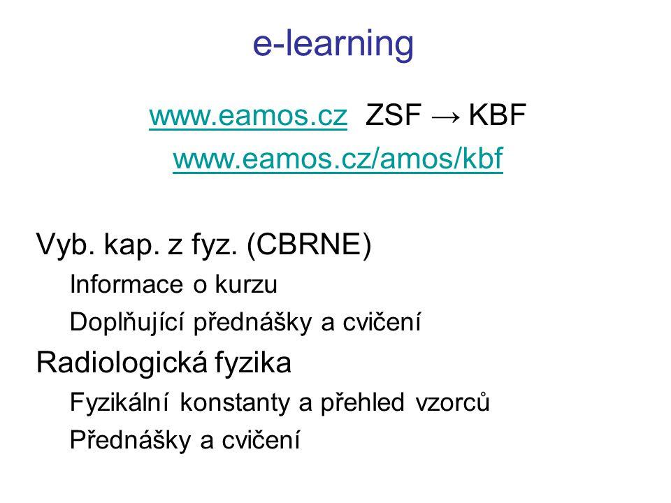 e-learning www.eamos.cz ZSF → KBF www.eamos.cz/amos/kbf