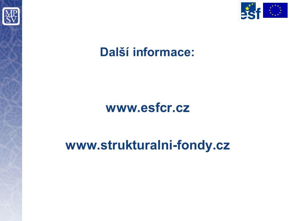 www.esfcr.cz www.strukturalni-fondy.cz