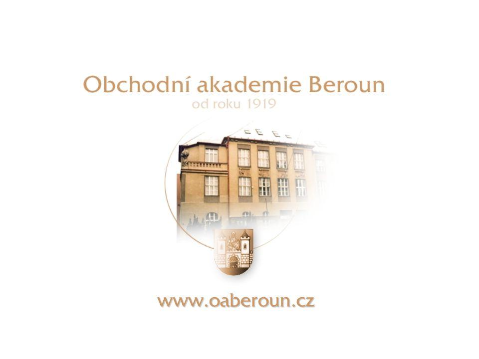 Úvodní stránka www.oaberoun.cz