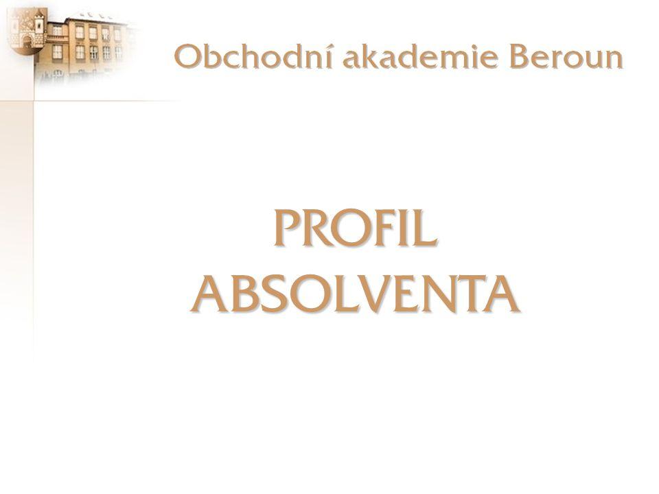 PROFIL ABSOLVENTA Profil absolventa - úvod