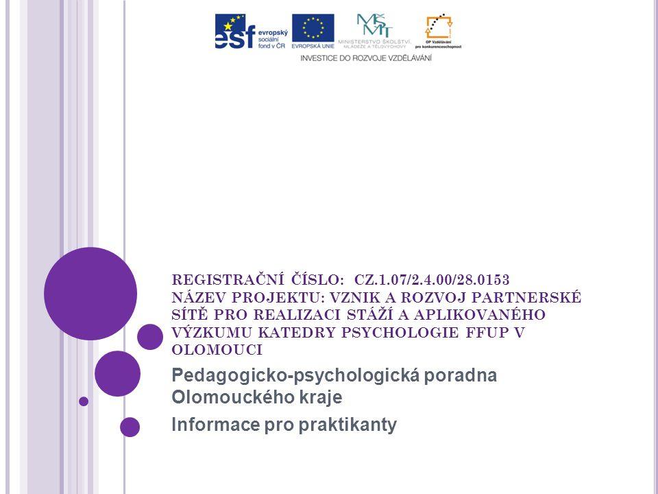 Pedagogicko-psychologická poradna Olomouckého kraje