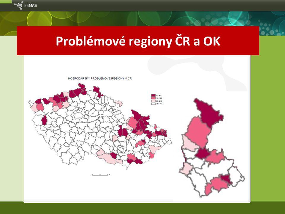 Problémové regiony ČR a OK
