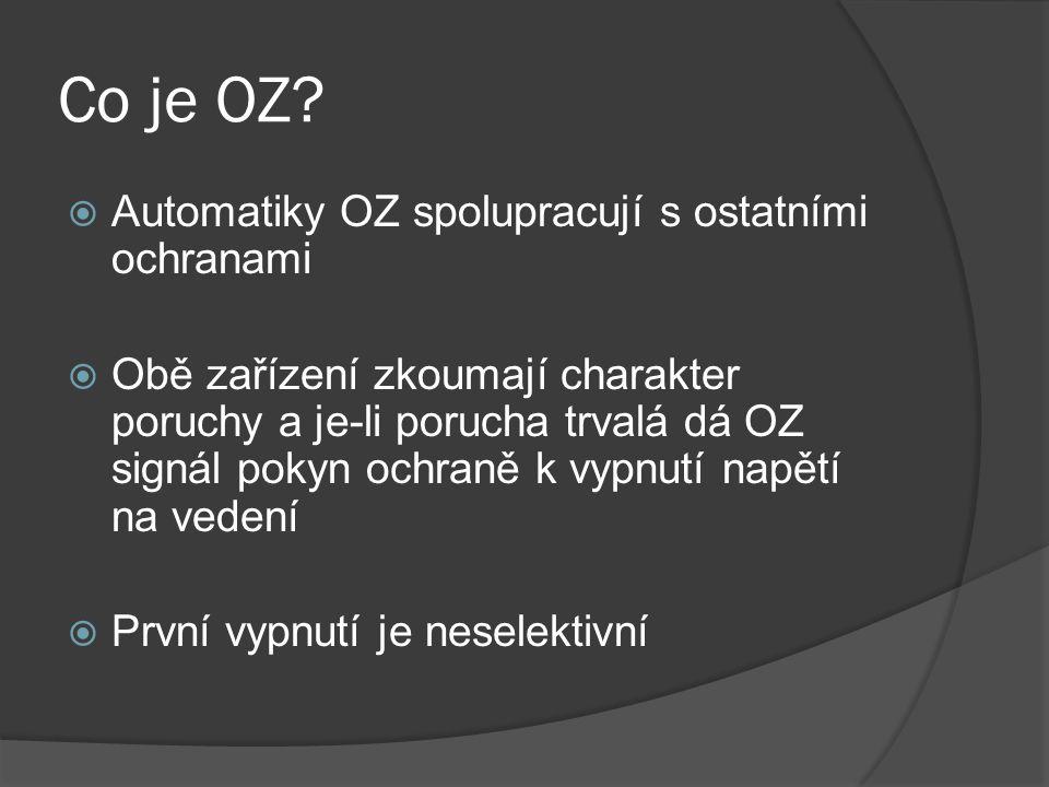 Co je OZ Automatiky OZ spolupracují s ostatními ochranami