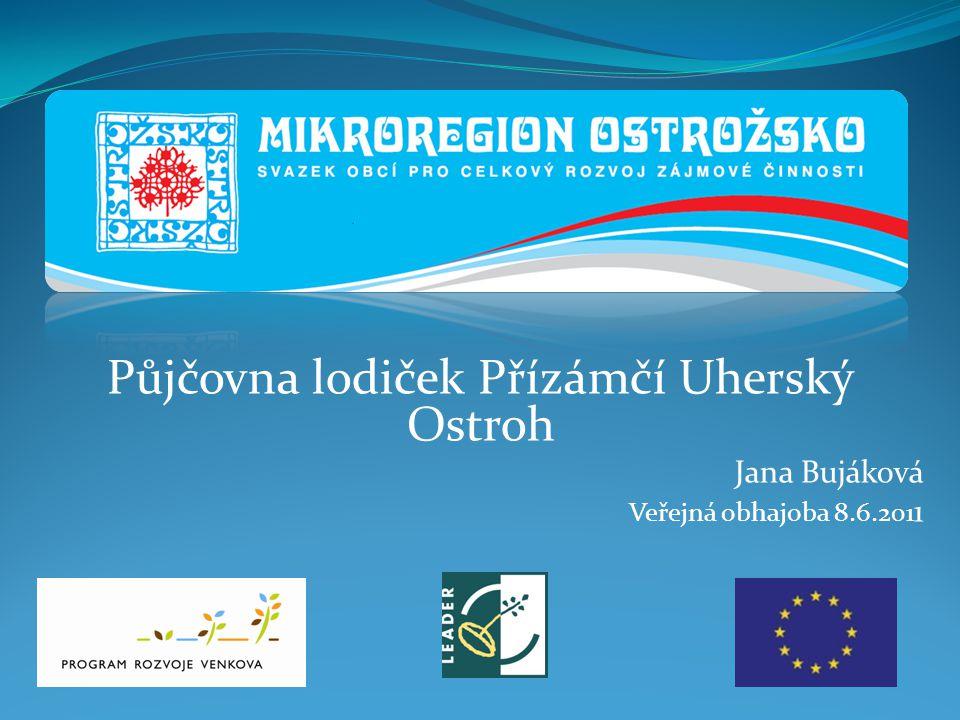 Půjčovna lodiček Přízámčí Uherský Ostroh