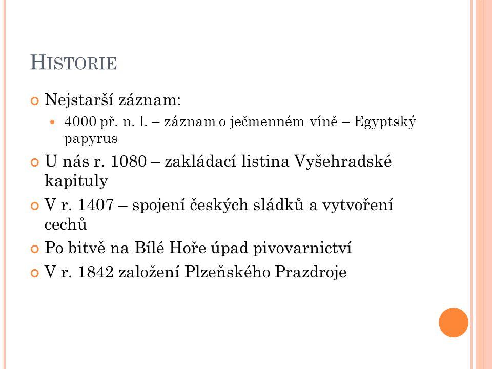 Historie Nejstarší záznam: