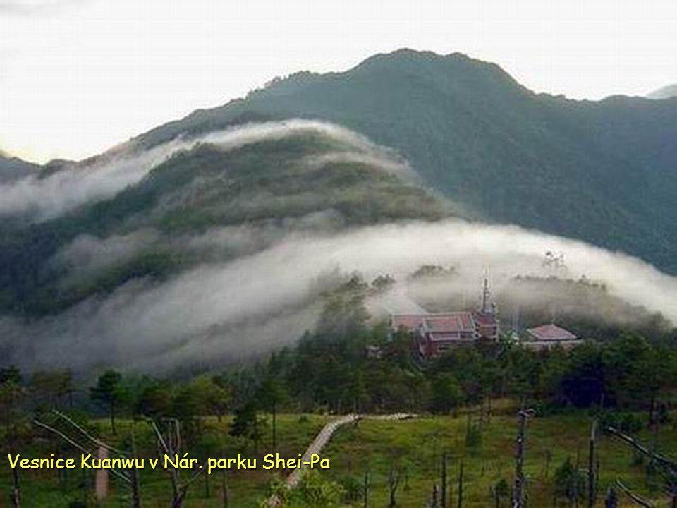 Vesnice Kuanwu v Nár. parku Shei-Pa