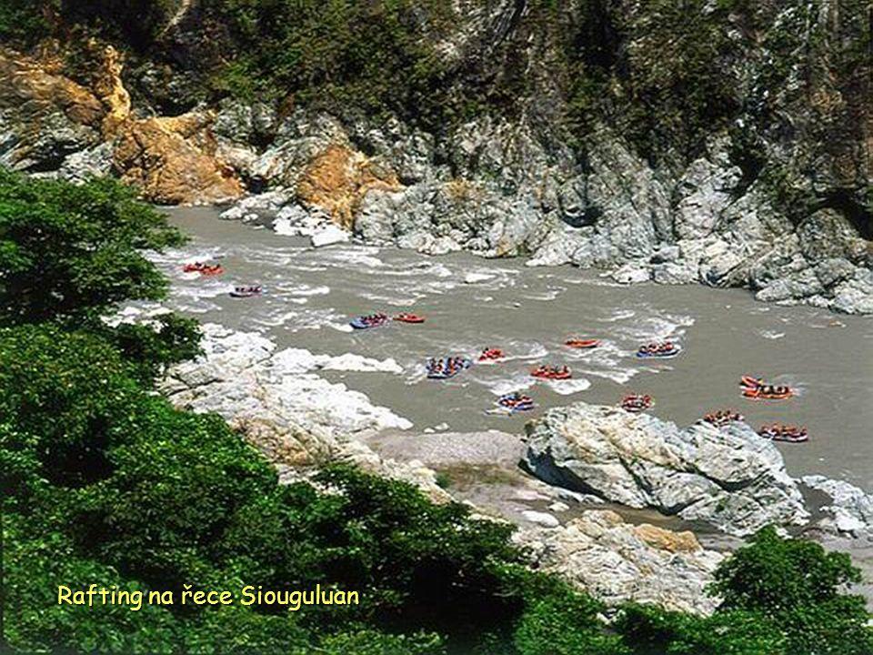 Rafting na řece Siouguluan