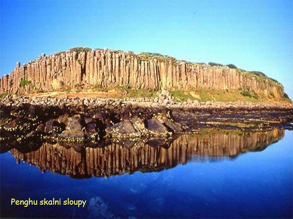 Penghu skalní sloupy