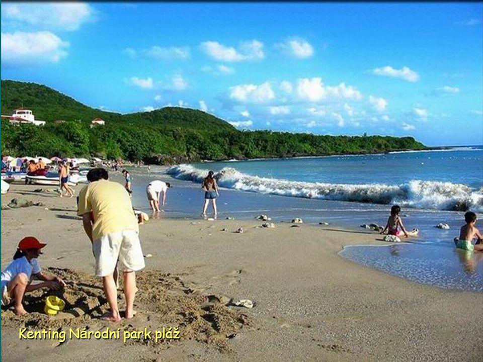 Kenting Národní park pláž