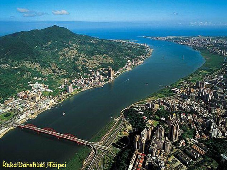 Řeka Danshuei, Taipei