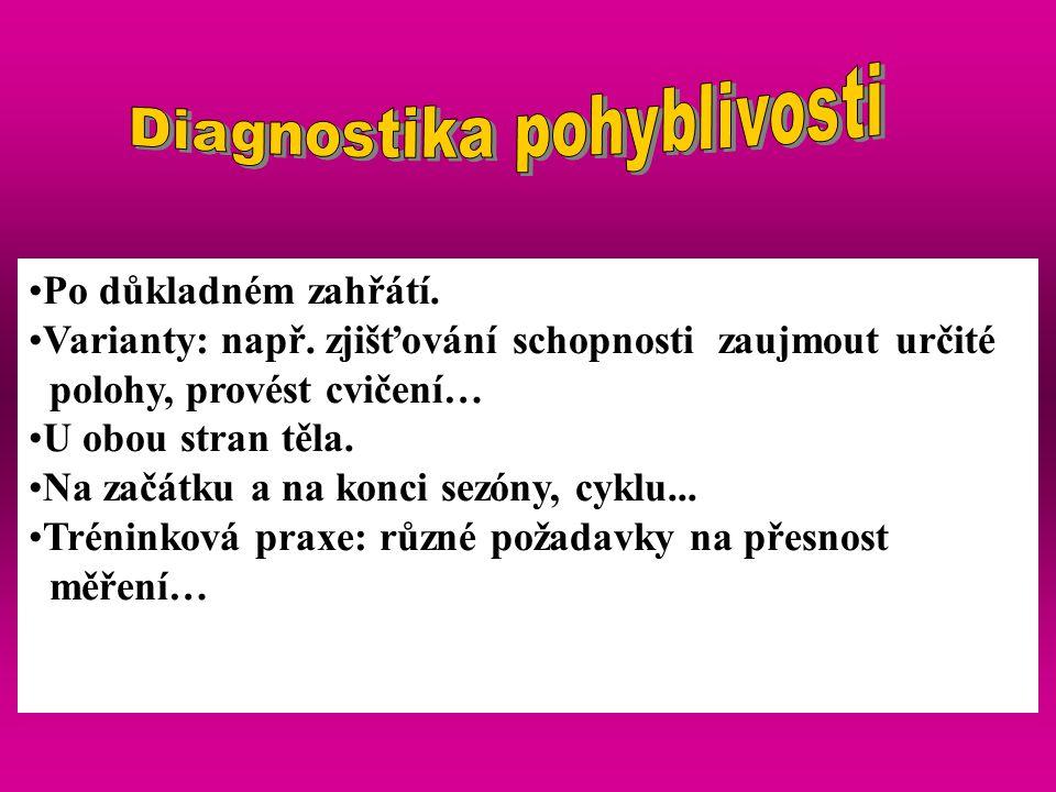 Diagnostika pohyblivosti