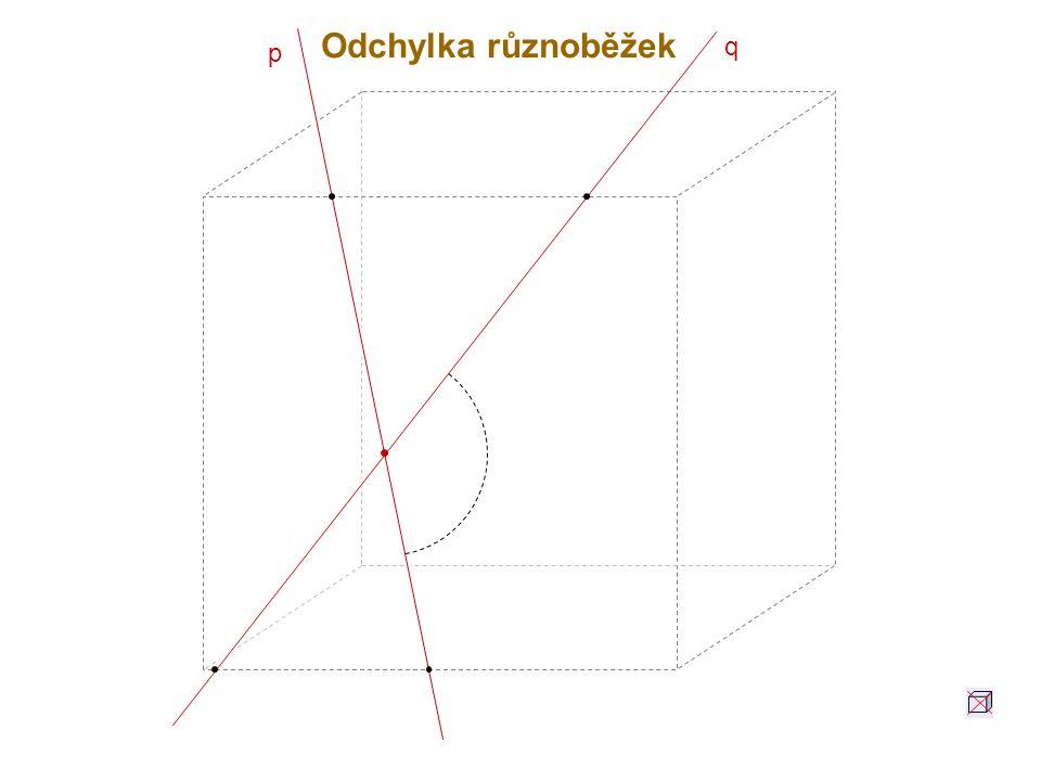 Odchylka různoběžek q p