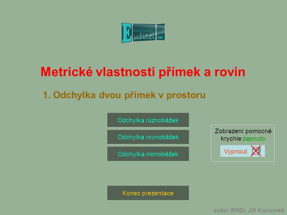 autor: RNDr. Jiří Kocourek