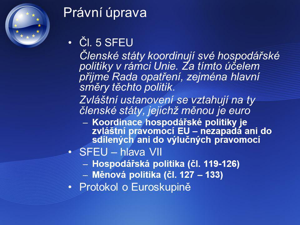 Právní úprava Čl. 5 SFEU.