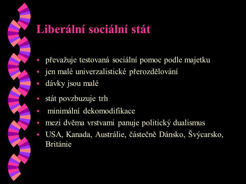 Liberální sociální stát