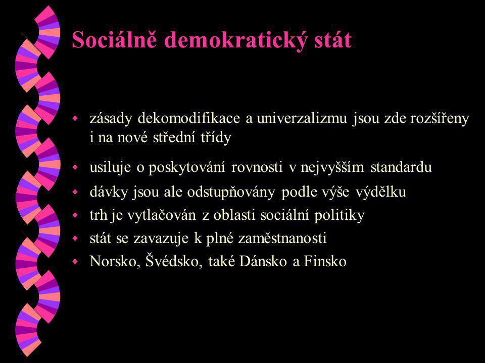 Sociálně demokratický stát