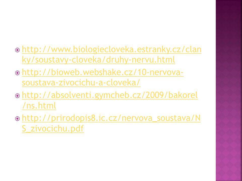 http://www. biologiecloveka. estranky