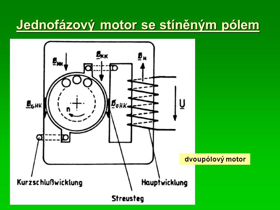 Jednofázový motor se stíněným pólem