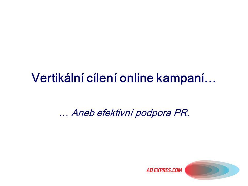 Vertikální cílení online kampaní…