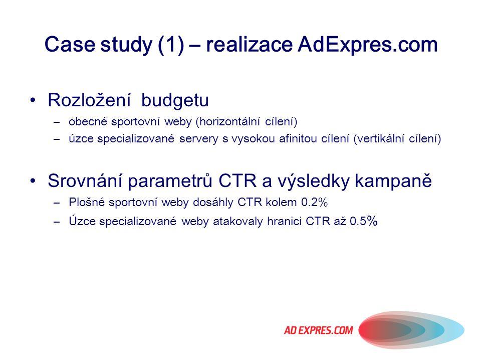 Case study (1) – realizace AdExpres.com