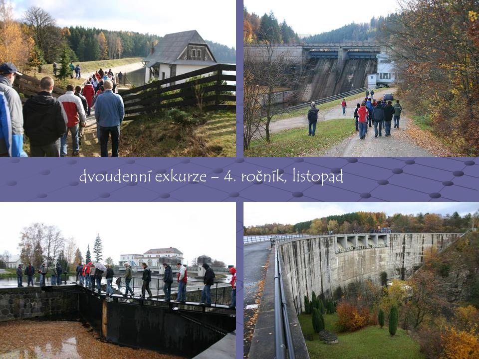 dvoudenní exkurze – 4. ročník, listopad