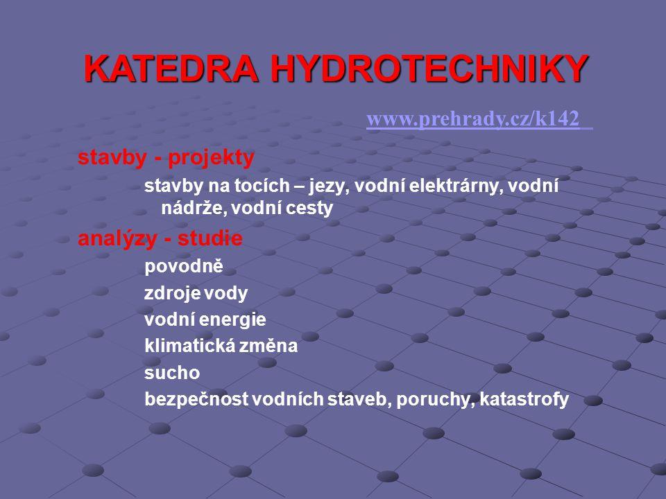 KATEDRA HYDROTECHNIKY