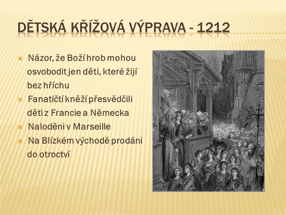Dětská křížová výprava - 1212