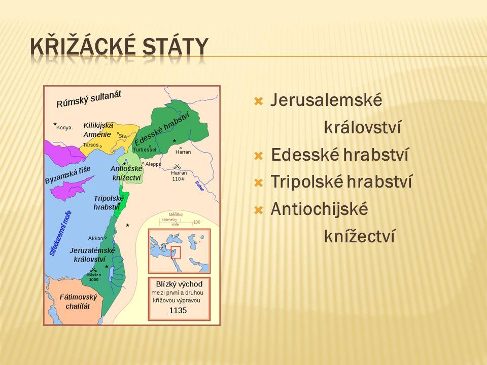 Křižácké státy Jerusalemské království Edesské hrabství