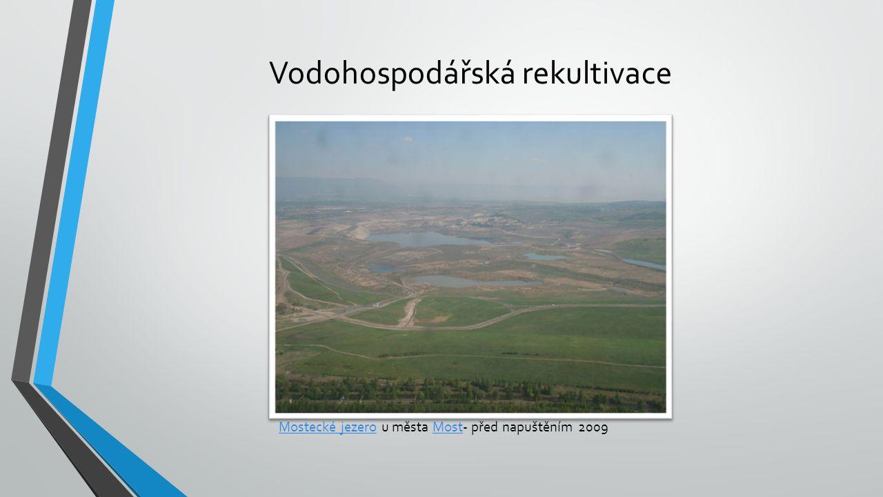 Vodohospodářská rekultivace
