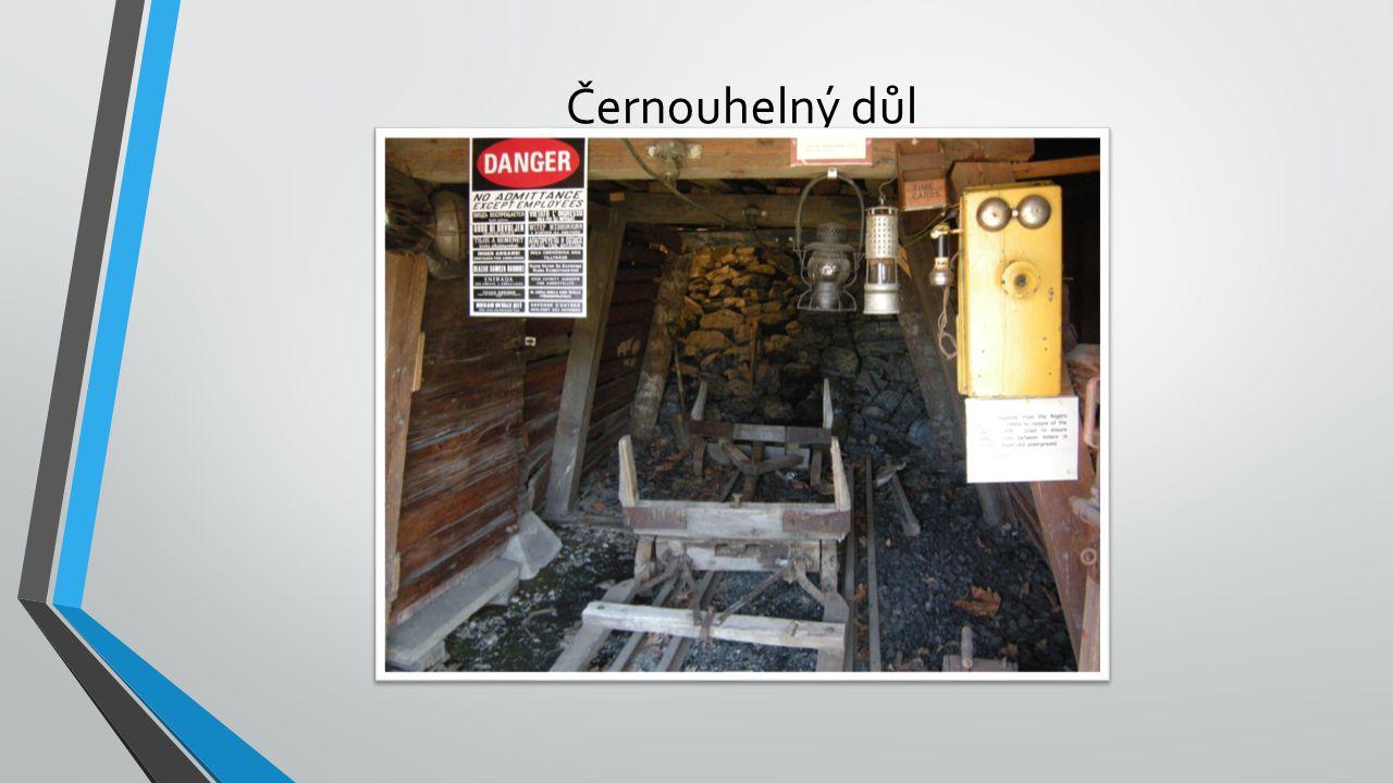 Černouhelný důl