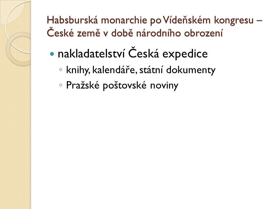 nakladatelství Česká expedice