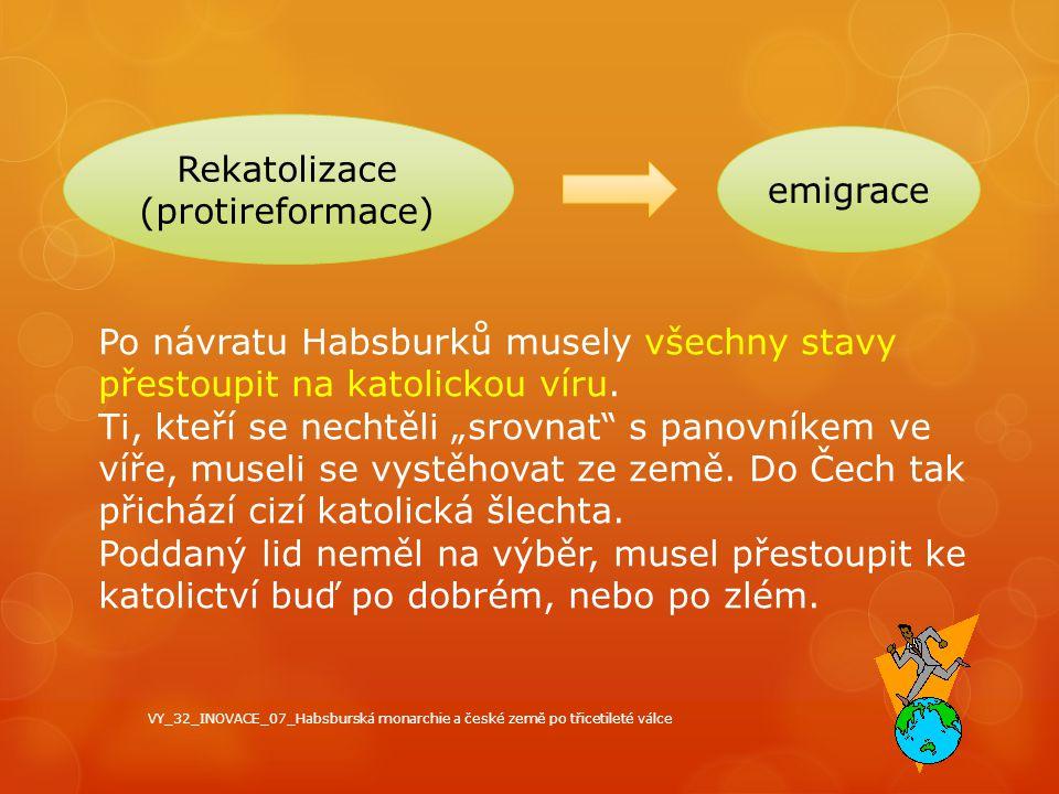 Rekatolizace emigrace (protireformace)