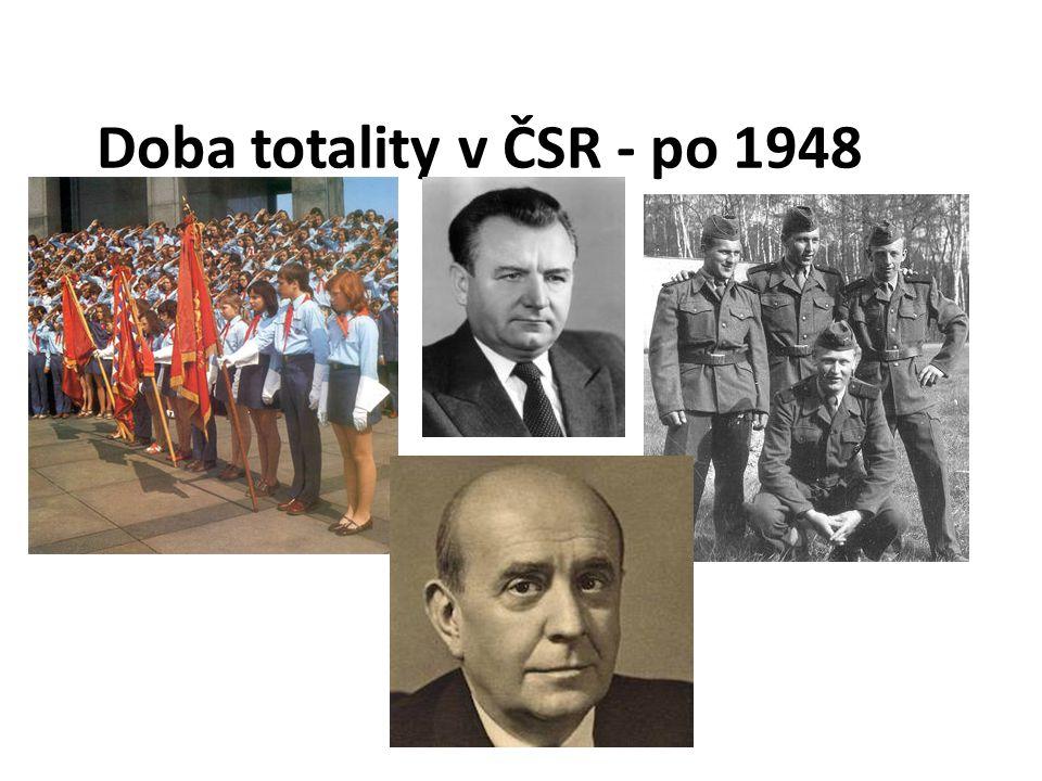 Doba totality v ČSR - po 1948