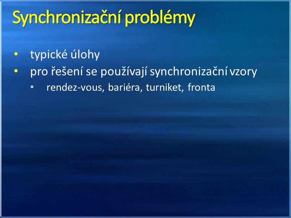 Synchronizační problémy