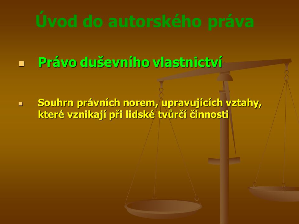 Právo duševního vlastnictví