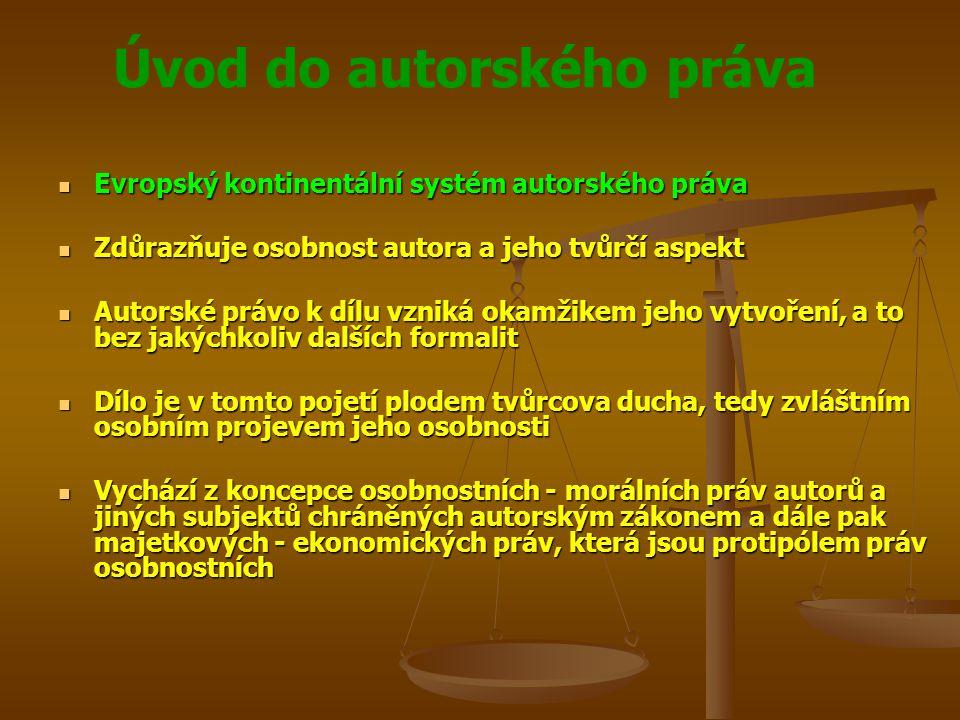 Evropský kontinentální systém autorského práva