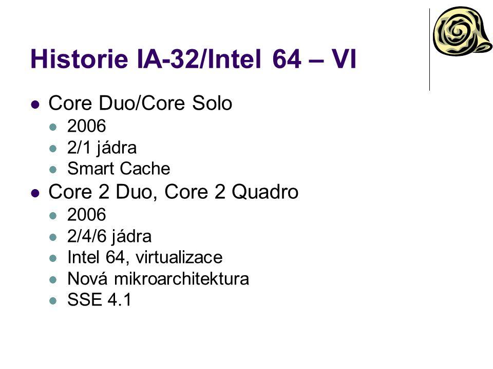 Historie IA-32/Intel 64 – VI