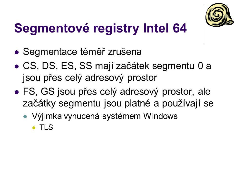 Segmentové registry Intel 64
