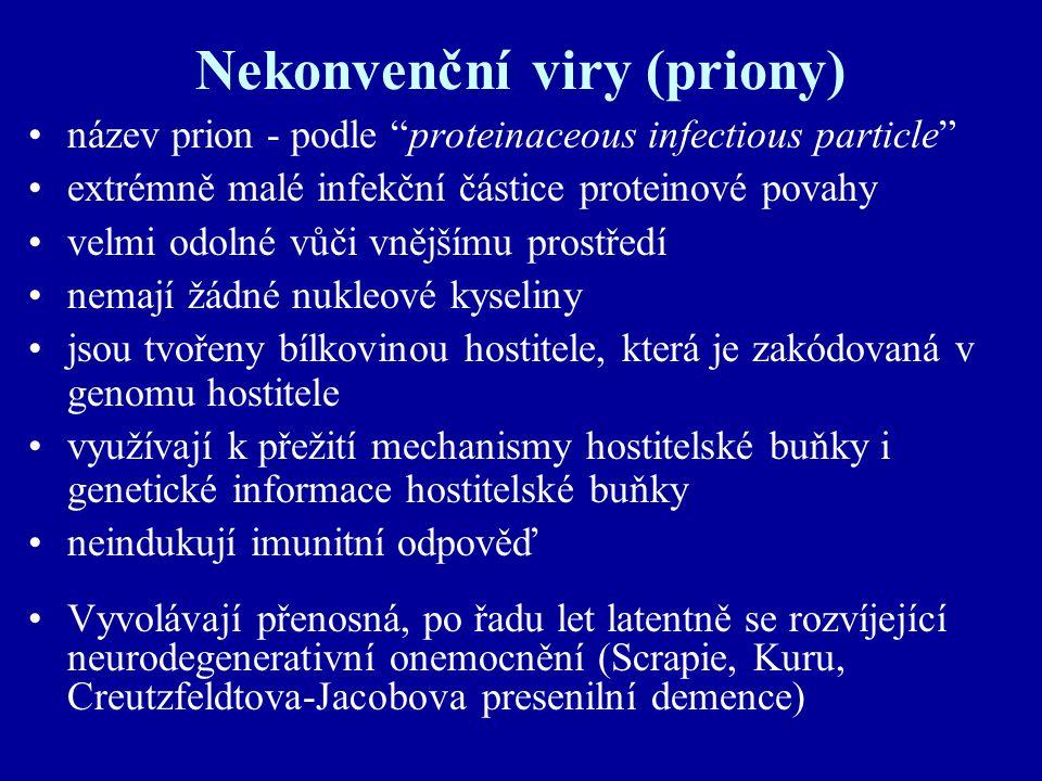 Nekonvenční viry (priony)